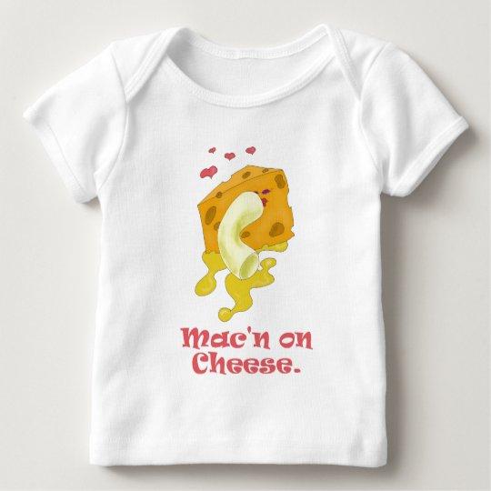 Mac'n on Cheese Baby T-Shirt