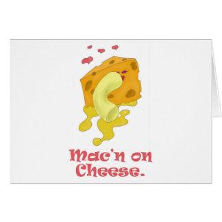 Mac'n on Cheese Greeting Card