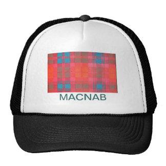 MACNAB SCOTTISH FAMILY TARTAN TRUCKER HAT
