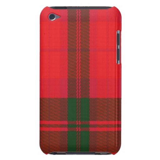 Macnabb Scottish Tartan Apple iPod Case Barely There iPod Cover
