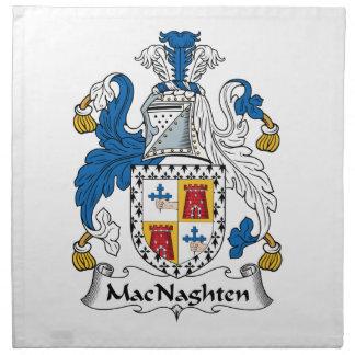 MacNaughten Family Crest Printed Napkins