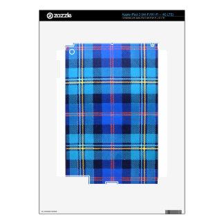 MACNAUGHTON SCOTTISH FAMILY TARTAN DECALS FOR iPad 3