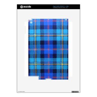 MACNAUGHTON SCOTTISH FAMILY TARTAN SKINS FOR THE iPad 2