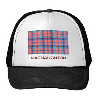 MACNAUGHTON SCOTTISH FAMILY TARTAN TRUCKER HAT