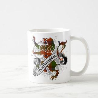 MacNaughton Tartan Lion Coffee Mug