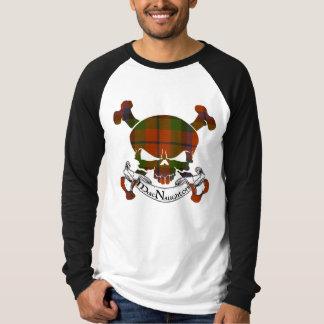 MacNaughton Tartan Skull T-Shirt