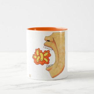 Mac'n'Cheese Two-Tone Coffee Mug