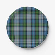 MacNeil Clan Tartan Plaid Paper Plate