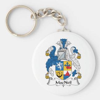 MacNeil Family Crest Keychain
