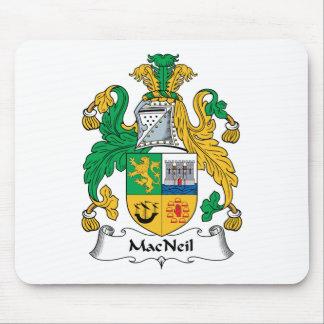 MacNeil Family Crest Mouse Pad