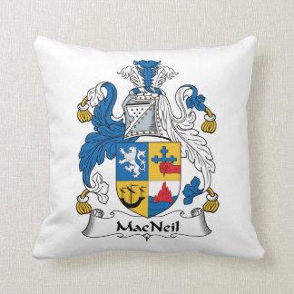 MacNeil Family Crest Pillow