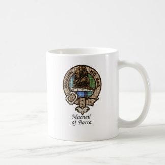 Macneil Of Barra Clan Crest Classic White Coffee Mug