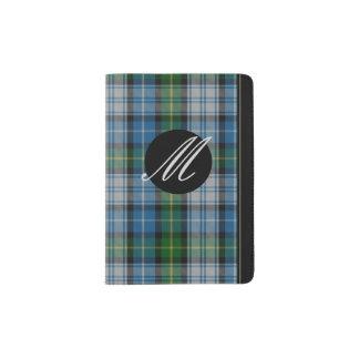 MacNeil Plaid Monogram Passport Holder