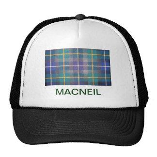 MACNEIL SCOTTISH FAMILY TARTAN TRUCKER HAT