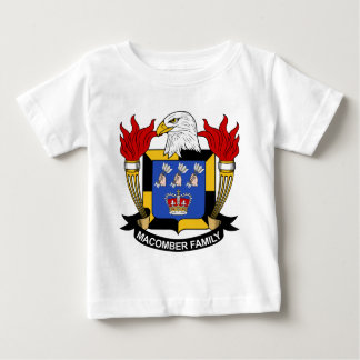 Macomber Family Crest Tee Shirts