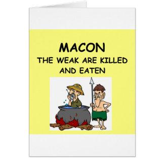 MACON CARDS