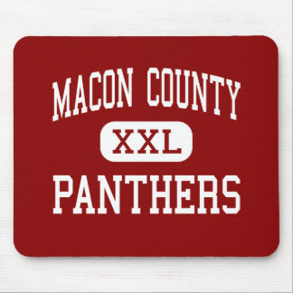 Macon County - Panthers - Middle - Franklin Mouse Pad