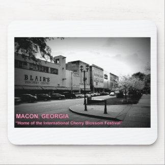 MACON, GA - HOME OF THE CHERRY BLOSSOM FESTIVAL MOUSE PAD