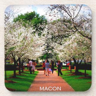 Macon, Georgia Beverage Coaster