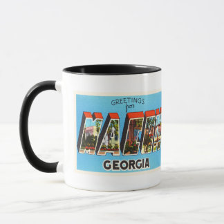 Macon Georgia GA Old Vintage Travel Souvenir Mug
