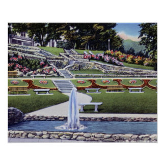 Macon Georgia Washington Park Print