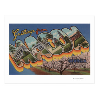 Macon GeorgiaLarge Letter ScenesMacon GA Postcards