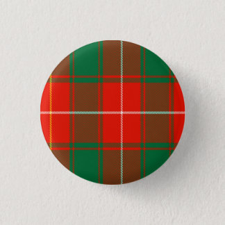 Macphee Scottish Tartan Pinback Button