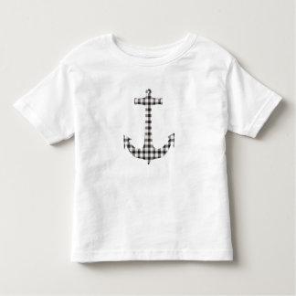 Macpherson Tartan Plaid Anchor Toddler T-shirt