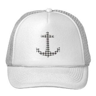 Macpherson Tartan Plaid Anchor Trucker Hat