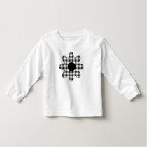 Macpherson Tartan Plaid Daisy Toddler T-shirt