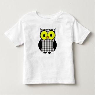 Macpherson Tartan Plaid Owl T-shirt