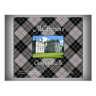 MacPherson's Cluny Castle Ale Postcard