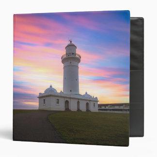 Macquarie Lighthouse | Sydney, Australia 3 Ring Binder