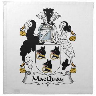 MacQuay Family Crest Napkins