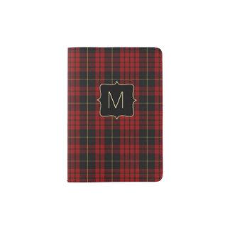MacQueen Clan Plaid Personalized Passport Holder