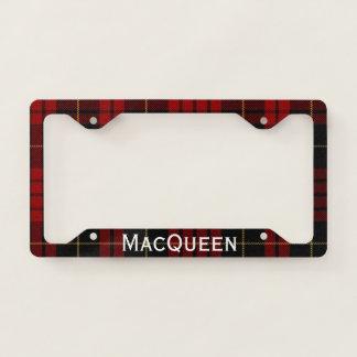 MacQueen Plaid License Plate Frame