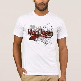 MacQueen Tartan Grunge T-Shirt