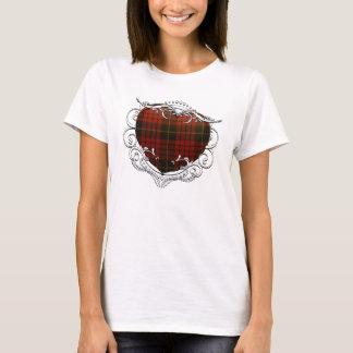 MacQueen Tartan Heart T-Shirt