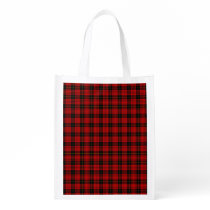 MacQueen Tartan Reusable Grocery Bag
