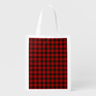 MacQueen Tartan Reusable Grocery Bag
