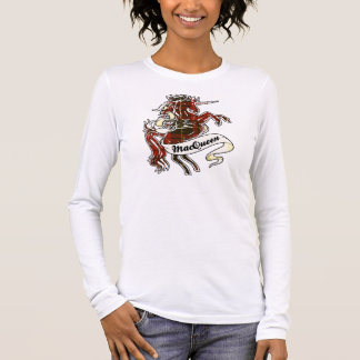 MacQueen Tartan Unicorn Long Sleeve T-Shirt
