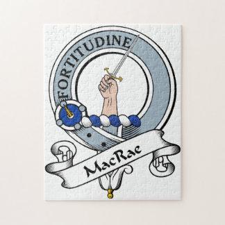 MacRae Clan Badge Jigsaw Puzzle