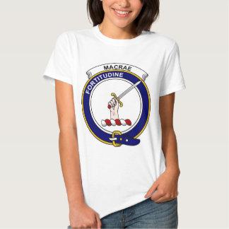 MacRae Clan Badge Shirt