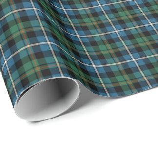 MacRae Clan Hunting Tartan Wrapping Paper