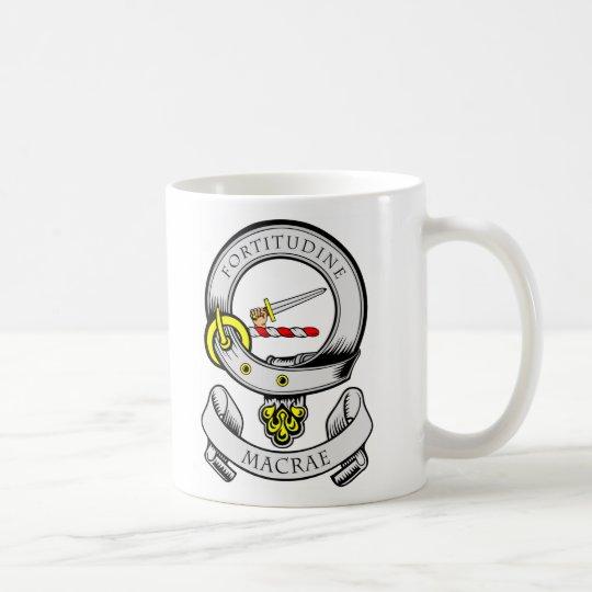 MACRAE Coat of Arms Coffee Mug