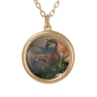 Macrauchenia Personalized Necklace