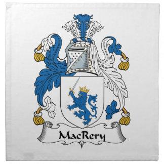MacRery Family Crest Cloth Napkins