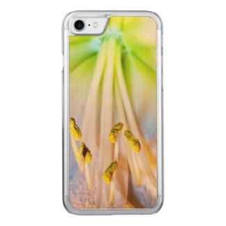 Macro Amaryllis Flower Photo Carved iPhone 7 Case