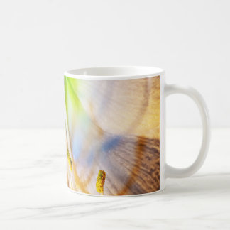 Macro Amaryllis Flower Photo Coffee Mug