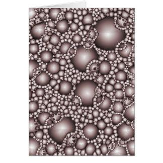 Macro Bubbles Abstract Card